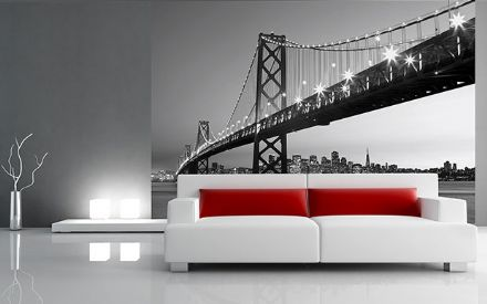 San Francisco City wall mural wallpaper